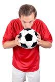 Amour du football Photos stock