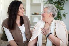 Amour du ` s de grand-mère Images stock