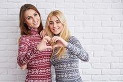 Amour du ` s de soeur pour toujours Image libre de droits