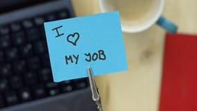amour du travail i mon Image libre de droits