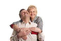 Amour en années Photographie stock libre de droits