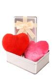 Amour en boîte Photos libres de droits