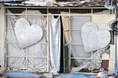 Amour en monde Photos libres de droits