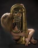 Amour en musique Image stock