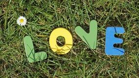 Amour en parc Images libres de droits