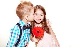 Amour enfantin Photos libres de droits