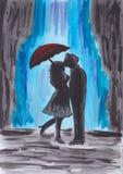 Amour ensoleillé Image libre de droits