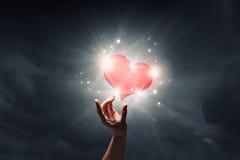 Amour entre deux Images stock