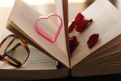 Amour entre les lignes Photographie stock libre de droits