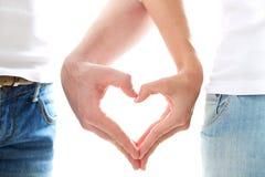 Amour entre nous Photos libres de droits