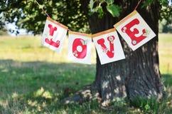 Amour et été Images stock