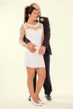 Amour et affection - le mariage parfait Photo stock