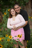 Amour et bonheur Photographie stock