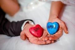 Amour et bonheur Images libres de droits
