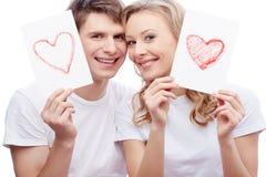 Amour et bonheur Image libre de droits