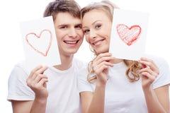 Amour et bonheur Photographie stock libre de droits