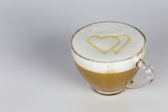 Amour et café Photo stock