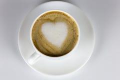 Amour et café Photo libre de droits
