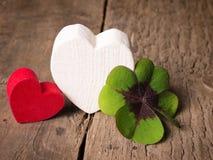 Amour et chance Images libres de droits