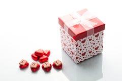Amour et chocolat Photo libre de droits