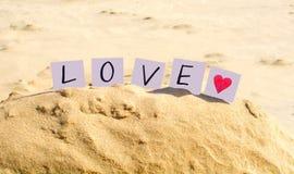 Amour et coeur Photos libres de droits