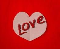Amour et coeur Photos stock