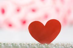 Amour et coeur, jour de valentines Images stock