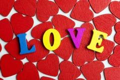 Amour et coeurs Photos stock