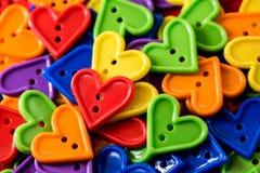 Amour et coloré Photos stock