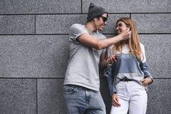 Amour et concept de personnes photos stock