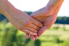 Amour et confiance Image libre de droits