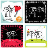 Amour et couples Images stock