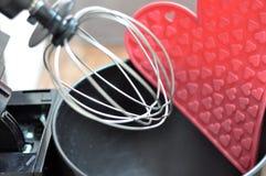 Amour et cuisson Image libre de droits