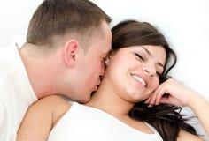 Amour et eroticism Photo libre de droits
