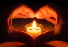 Amour et espoir Images stock