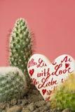 Amour et haine Photos libres de droits