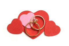 Amour et mariage Photos stock