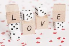 Amour et matrices sur le fond de coeur. Photo libre de droits