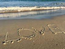 Amour et mer Photo libre de droits