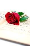 Amour et musique Image libre de droits