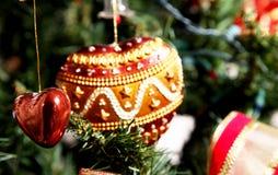 Amour et Noël Photo libre de droits