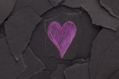 Amour et obscurité Photos libres de droits