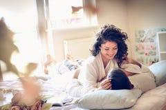 Amour et offre au matin Image libre de droits