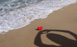 Amour et ombre Photos libres de droits