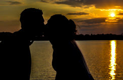 Amour et romance Image libre de droits