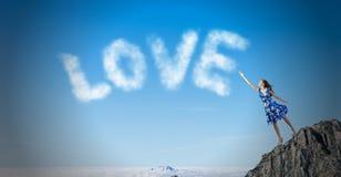 Amour et romance Photo stock
