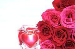 Amour et roses Image libre de droits