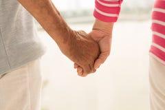 Amour et support Photo libre de droits