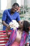 Amour et surprise Image stock