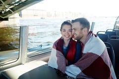 Amour et voyage Images libres de droits
